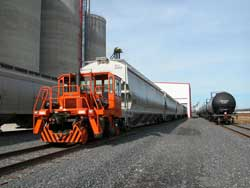 Projects include rail car mover repair to railroad spur design.