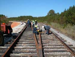 Shelby Railroad – railroad track contractors.