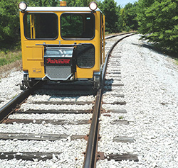 Used rail car mover rental
