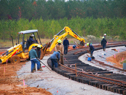 Shelby Railroad - rail car mover rental, railroad track inspections and more.